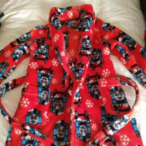 Thomas & friends Red fleece robe